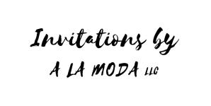 A la Moda LLC Invitations 2